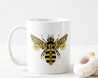 Steampunk Queen Bee Mug