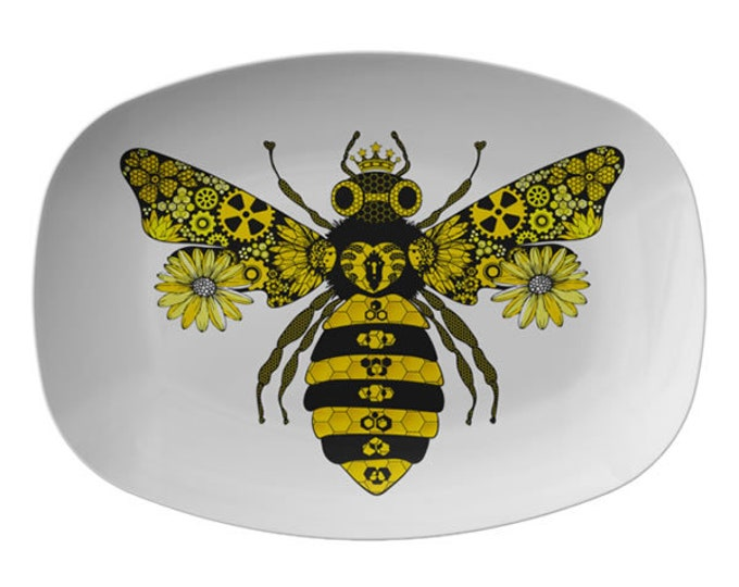 Steampunk Queen Bee Serving Platter