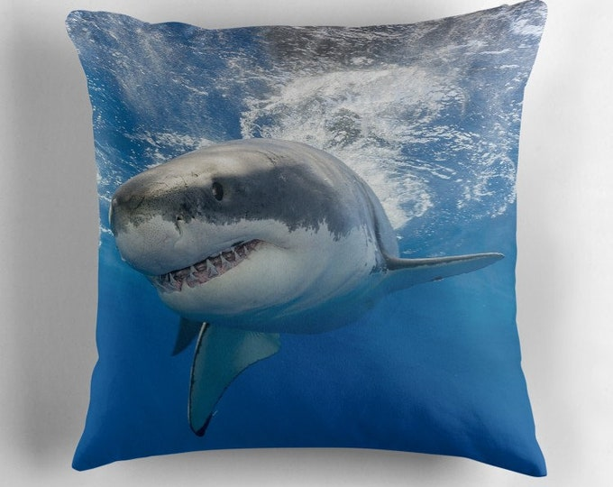 Featured listing image: Shark Cushion | Pillow