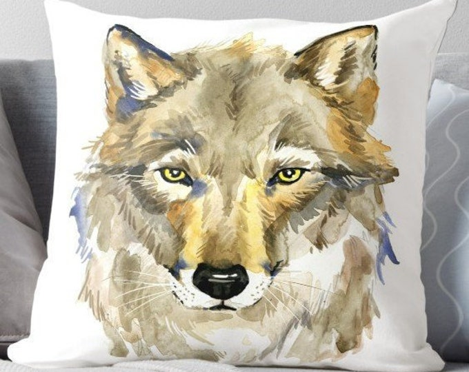 Wolf Cushion | Wolf Pillow