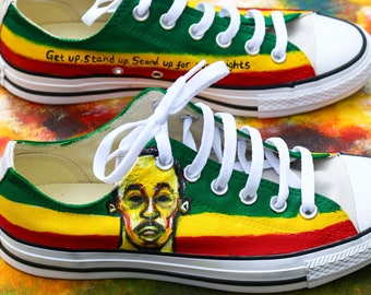Bob marley shoes  76b3c44dc40