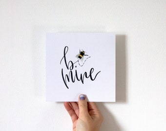 Be Mine Valentines Day Card