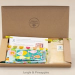 DIY Beeswax wraps kit for all your needs, reusable food wraps, DIY Beeswax Food Wrap