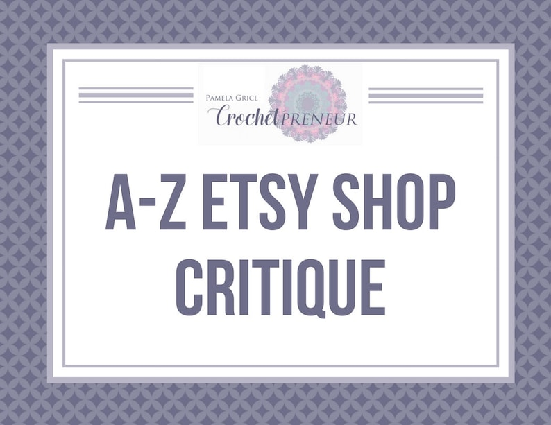 6b5d16b28d90c Etsy Shop Help - Crochet Shop Critique - Help with Crochet Shop - Help with  Etsy Shop - How to Increase Sales - Etsy Sales - Sell on Etsy