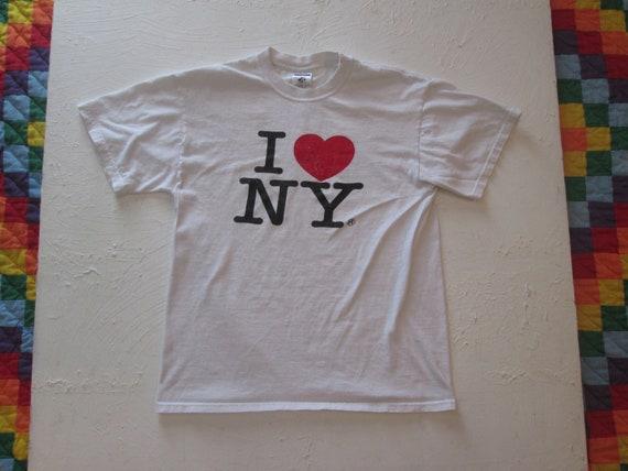 Vintage 1990s I Love New York T-Shirt I Heart NY S