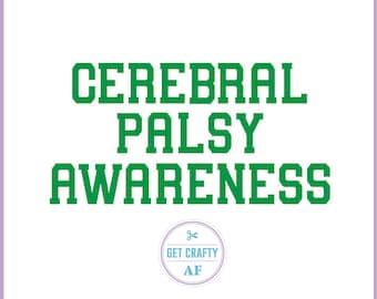 Cerebral Palsy Awareness Decal Sticker