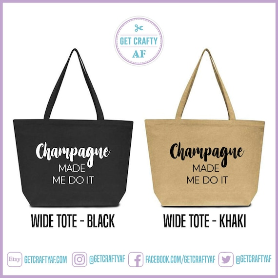 Eco-Friendly Tote Bag Wine Not? Wine Lover Tote Reusable 4 Sizes Wine Lover Bag Wine Lover Purse Wine Lover Gift