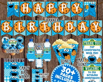 Cookie Monster Etsy
