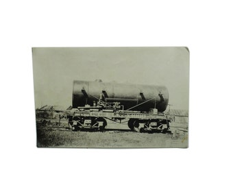 Vintage Train Photo Print.  Circa 1940's.