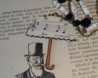 Singing in the rain (necklace)