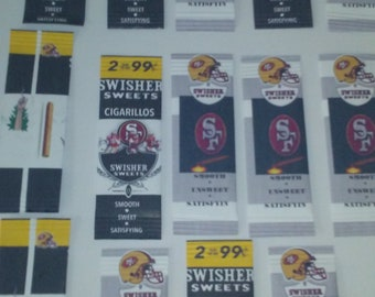 swisher sweet cigar pack template