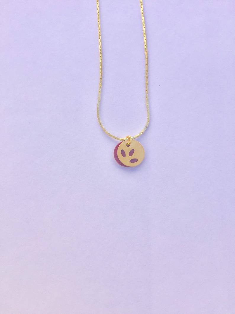 Very fine short Medallion necklace