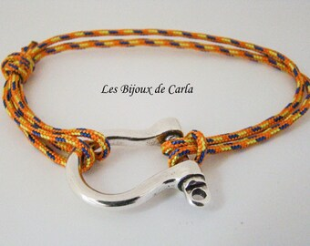 Manila rope bracelet parachute