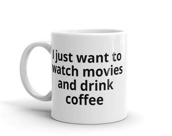 Movies + Coffee - Mug