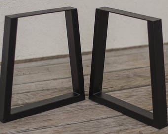 More Colors. Trapezoid Bench Legs, Metal Legs, Coffee Table ...