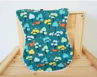 Bee softman, baby, diaper, maternity, child, bib, drill, fox, green, raccoon