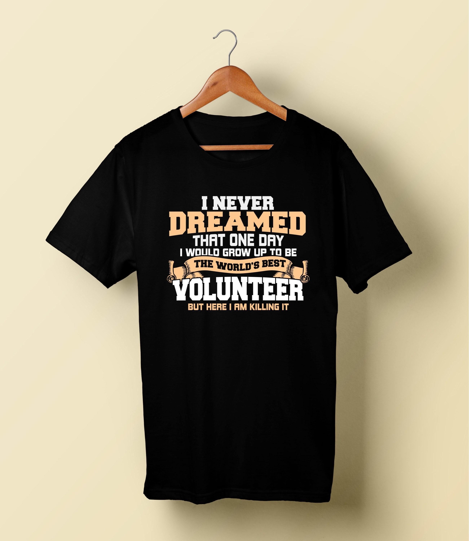 46b0a844 Volunteer Shirt/ Best Volunteer T-Shirt/ Trendy Volunteers | Etsy