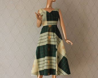 African clothing, Ankara dress, African dress, green African dress, Ankara dresses, African clothing, Green midi dress