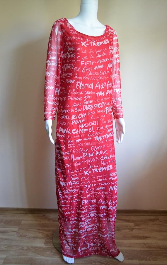 Moschino words dress