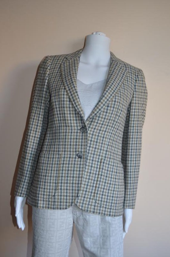 Burberry Burberrys checked jacket