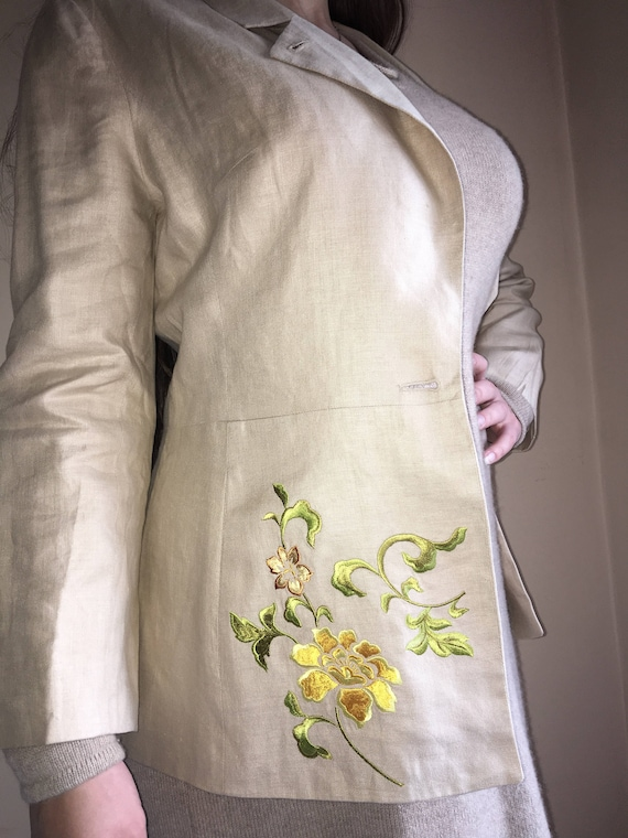 Kenzo embroidery jacket