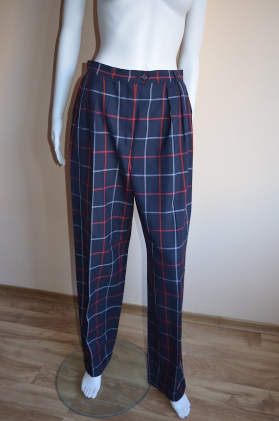 Burberry vintage checked pants