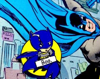Chibi Batman Enamel Pin