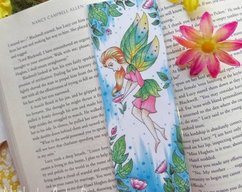 Spring Fairy Bookmark, Spring Fae, Printed Bookmark, Gifts for Readers, Gifts for Book Lovers