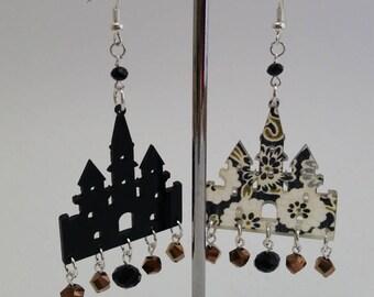"""Earrings """"Sundry Molds""""-The Churches 2"""