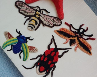b3d9137fee193d Insect embroidery patch
