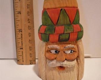 Ornament, Santa, hohen Hut