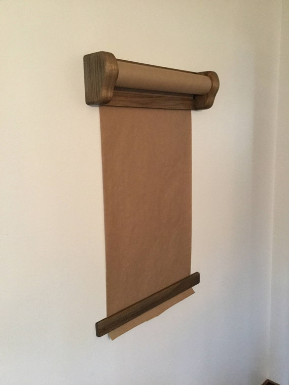 Milwerk Wall Mount Paper Roller Kraft Paper Dispenser Etsy