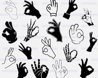 Ok hand svg - Ok hand sign svg - Ok hand sign clipart - Ok hand sign digital clipart for Design or more files download eps, svg, png, jpg