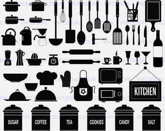 Kitchen svg - Kitchen vector - Kitchen clipart - Kitchen digital clipart files for Design or more, files download svg, png