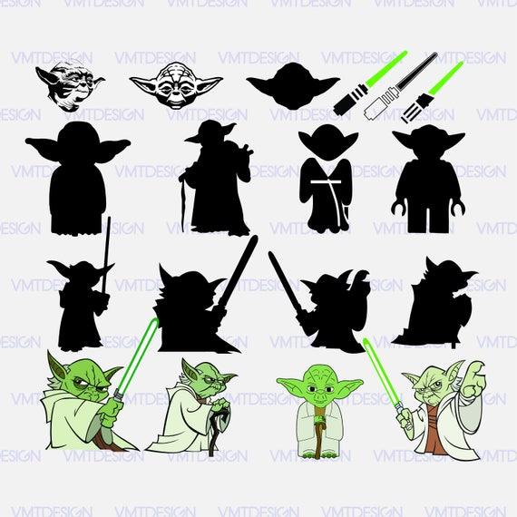 yoda svg yoda vector yoda clipart yoda starwars vector yoda rh etsystudio com yoda clip art free yoda clipart