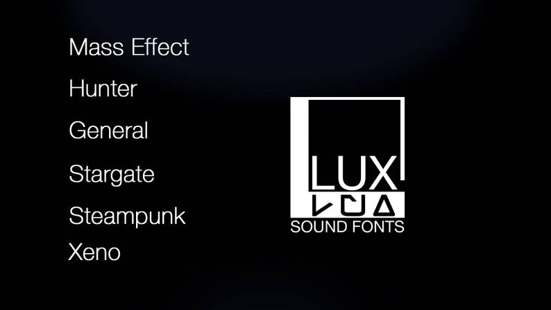 Soundfont pack for Plecter labs - 6 fonts, 1 free