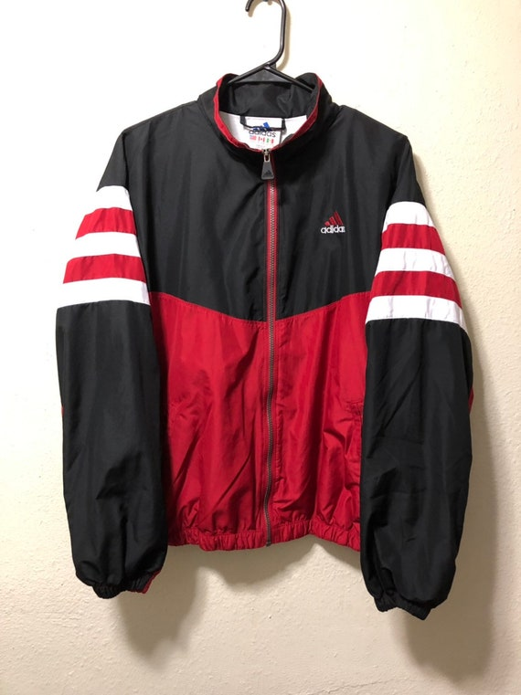 Vintage Adidas Windbreaker Jacket Size XL
