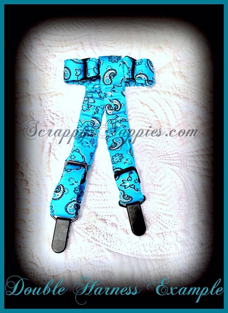 Blue Tie Dye Ruffles