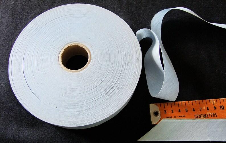 Pale bluish gray 3 cm cotton bias