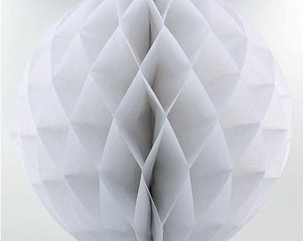 White Paper Lantern 30cm Wedding Decoration
