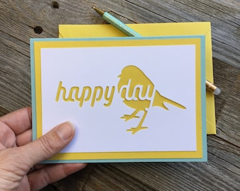 Birthday Card Hapbee Birthday Card Glitter Birthday Card Etsy