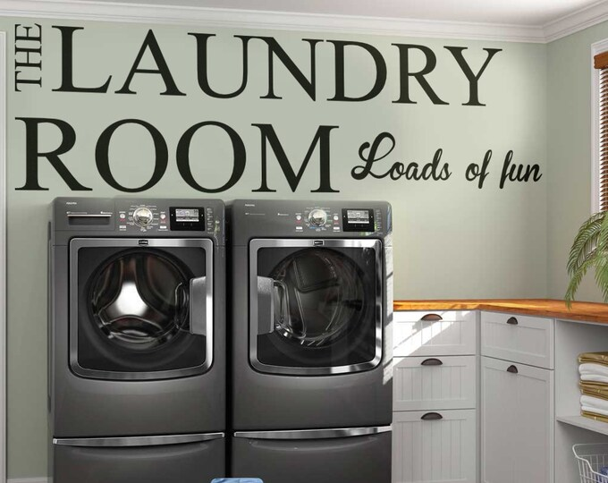 The Laundry Room - Loads of fun!!, Homeware collection for home improvement, Interior design ideas, Home decor, Clothing Room