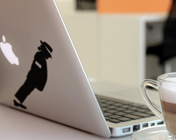 Smooth Mobster Criminal Decal Sticker, Skin, Laptop Vinyl decals, mac, Michael Jackson Style, Macbook Decal Sticker, Smooth Criminal, Dance