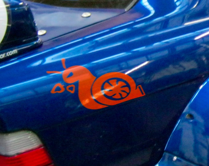 Boost Snail - Funny Die Cut Vinyl Sticker for cars, JDM DRIFT, Car Sticker, Decal, Boosted, Turbo, Raging Snail, Fast and Furious, Tuning