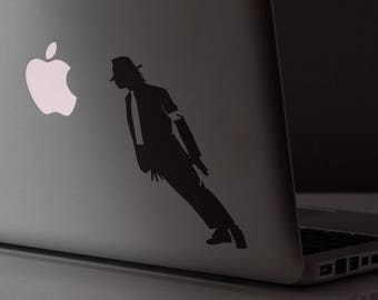 Smooth Mobster Criminal Decal Sticker, Skin, Laptop Vinyl decals, mac, Michael Jackson Style, Macbook Decal Sticker
