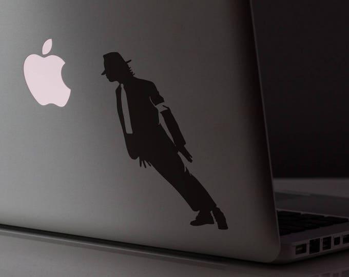 Smooth Mobster Criminal Decal Sticker, Skin, Laptop Vinyl decals, mac, Michael Jackson Style, Macbook Decal Sticker