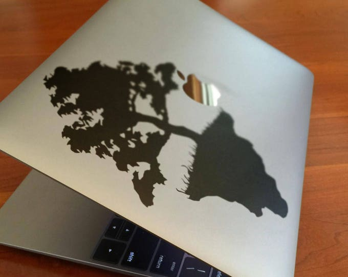 Utopian Paradise decal, Perfect non-existent society, Perfection, Chimera, mac, Macbook Decal Sticker
