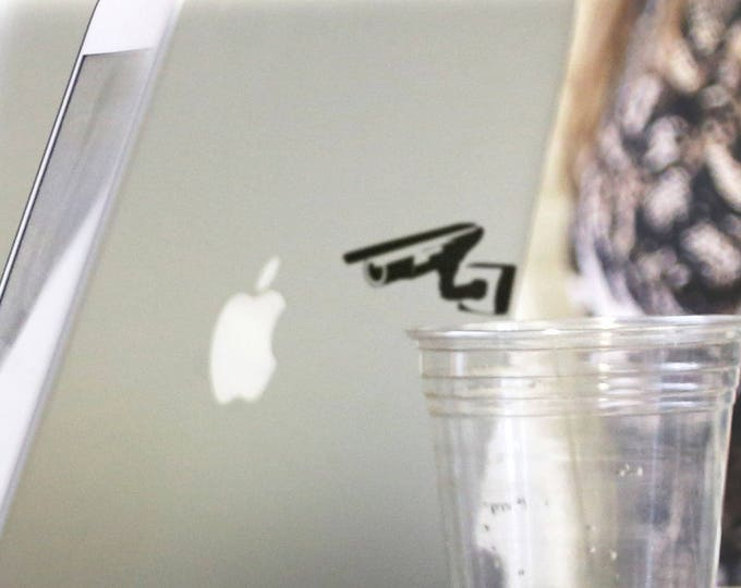 World under surveillance Decal Sticker, Knowledge, mac, video, privacy, big brother is watching you, Macbook Decal Sticker