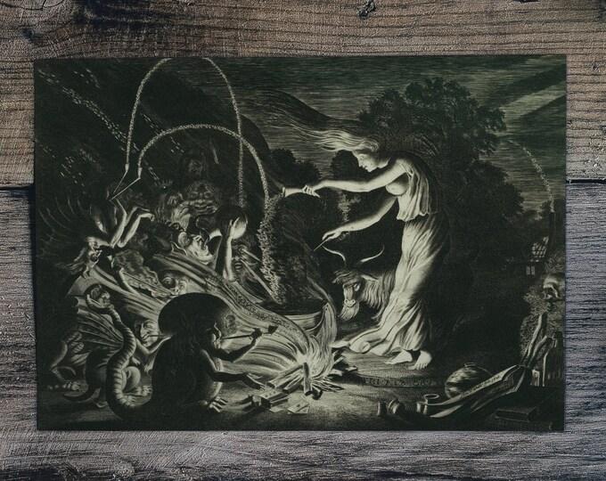 The Sorceress by Jan van de Velde II - 1626 - Witchcraft, Incantation, Demonic