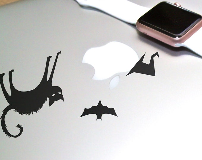 Wicked Mackbook, Decal Sticker, Laptop Skin, Scare, Trick or Treat, Halloween, Nightmares, Evil, Witch, mac, Macbooks Decal Sticker